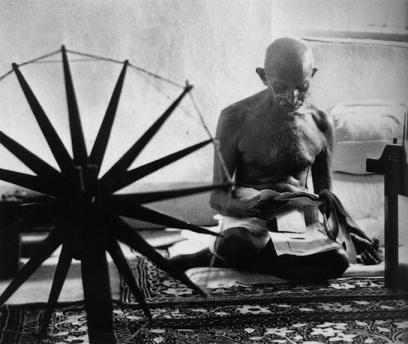 Mahatma Gandhi, 1946