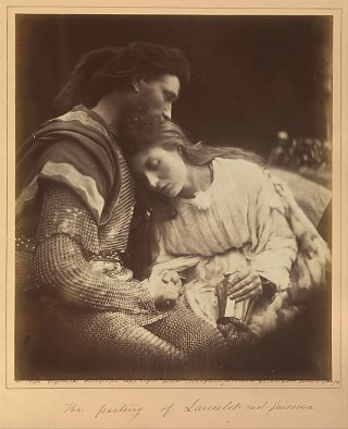 The Parting of Lancelot and Guinevere, 1874