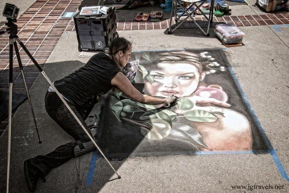 Chalk Festival - Pasadena, CA