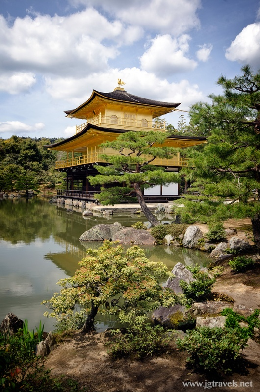 Temple of the Golden Pavilion - Kyoto, Japan