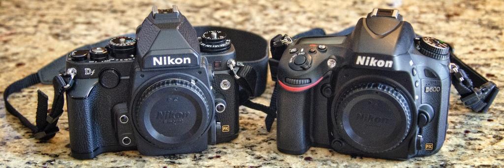 Nikon Df and Nikon D600