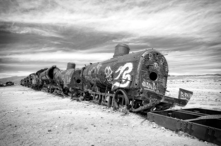 Train Graveyard, Uyuni, Bolivia