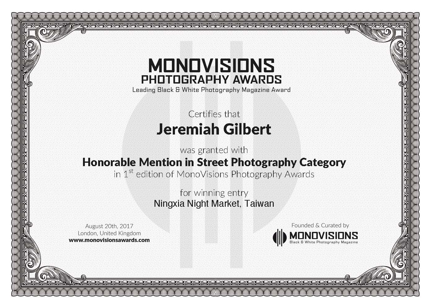 Honorable mention monovisions photography awards jgtravels honorable mention in this years monovisions photography awards given the caliber of the winners i am indeed honored you can see the series here 1betcityfo Gallery
