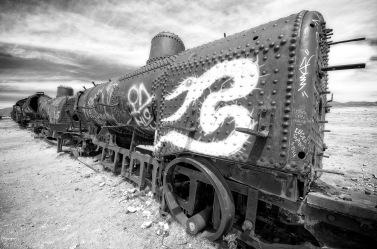 Train Graveyard, Uyuni, Bolivia (2014)
