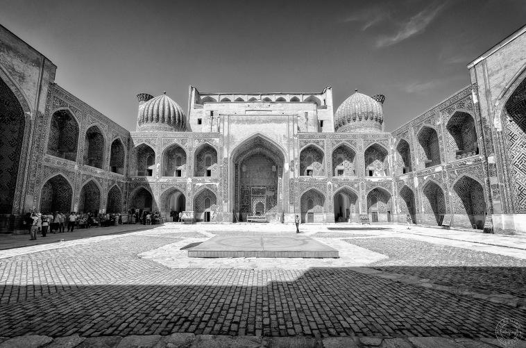 Sher-Dor Madrasah, Samarkand, Uzbekistan (2014)