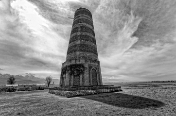 Burana Tower, Kyrgyzstan - Open Monochrome Category